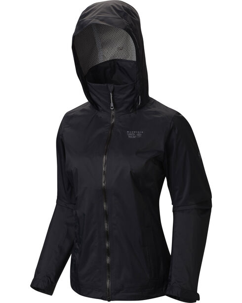 Mountain Hardwear Women's Black Plasmic Ion Jacket, Black, hi-res