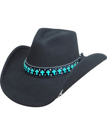 Bullhide Women's Goin' Some Place Special Wool Hat, , hi-res