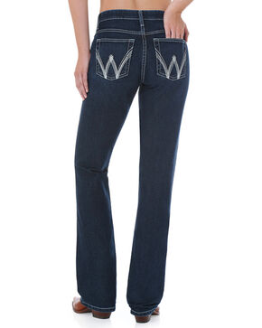Wrangler Women's Blue Cool Vantage Ultimate Riding Jeans - Boot Cut, Blue, hi-res