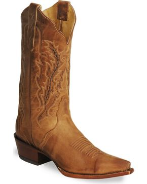 Nocona Women's Fashion Western Boots, Tan, hi-res