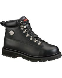 Harley-Davidson Men's Drive Steel Toe Safety Boots, , hi-res