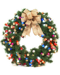 BB Ranch Multi Color Shotgun Shell Wreath, No Color, hi-res