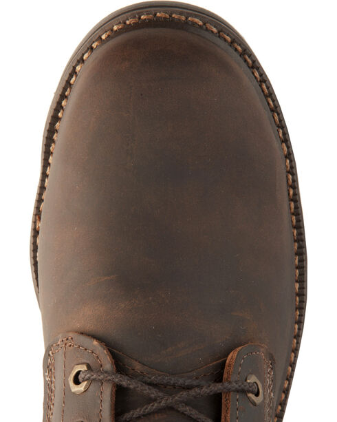 """Justin Men's J-Max Rugged Gaucho 8"""" Lace-Up Work Boots, Brown, hi-res"""