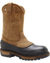 Georgia Men's Muddog Wellington CC Work Boots, , hi-res