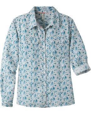 Mountain Khakis Women's Equatorial Long Sleeve Shirt, Blue, hi-res