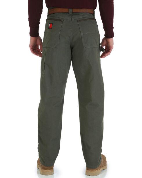 Wrangler Men's Riggs Carpenter Work Jeans - Big & Tall, Loden, hi-res