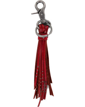 BB Ranch® Tassel Keychain, Red, hi-res
