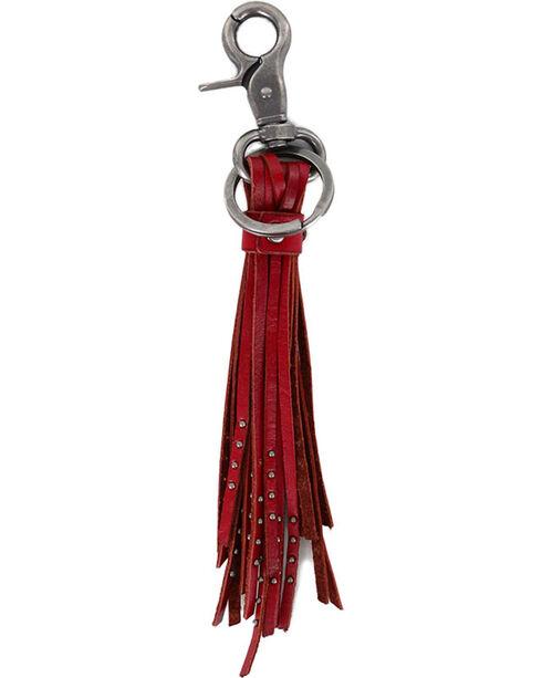 BB Ranch® Tassel Keychain, Red, hi-res