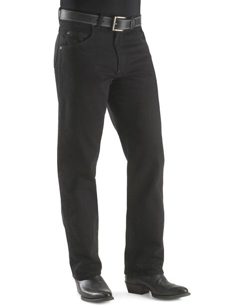 Wrangler Rugged Wear Men's Relaxed Fit Jeans, Black, hi-res