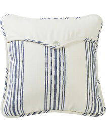 HiEnd Accents Prescott Navy Stripe Envelope Pillow, , hi-res