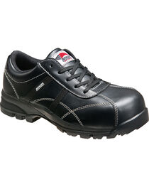 Avenger Women's Black Oxford Work Shoes - Composite Toe, , hi-res