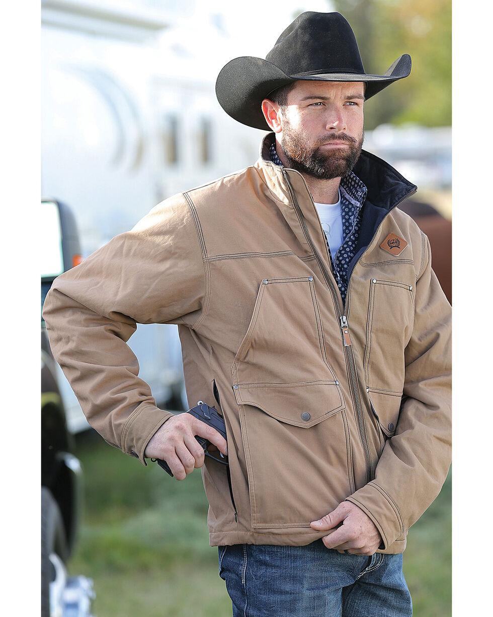 Cinch Men's Tan Canvas Concealed Rancher Jacket , , hi-res
