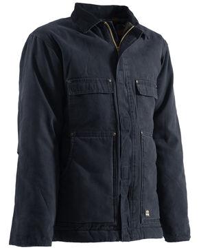 Berne Original Washed Chore Coat - Tall 3XT and Tall 4XT, Midnight, hi-res