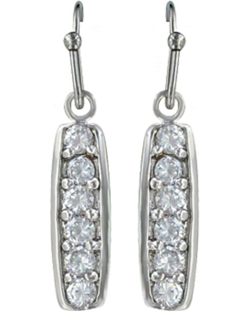 Montana Silversmiths Women's Prairie Aster Earrings, Silver, hi-res
