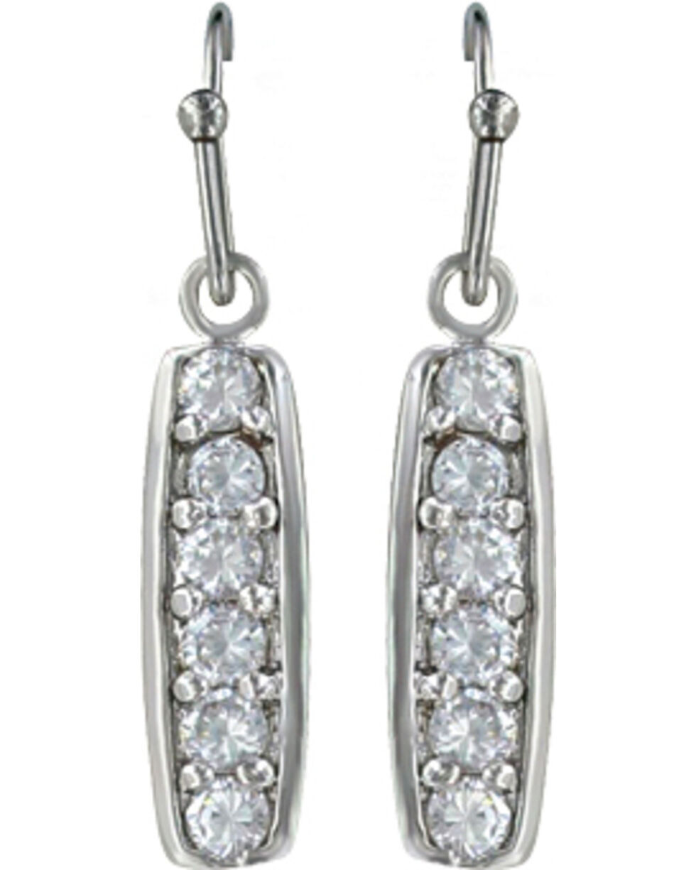 Montana Silversmiths Women's Prairie Aster Earrings, Silver, hi-res