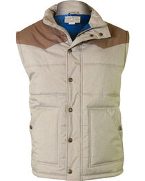 Cody James Men's Squaw Valley Tan Vest, , hi-res
