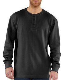 Carhartt Men's Long Sleeve Textured Henley, , hi-res