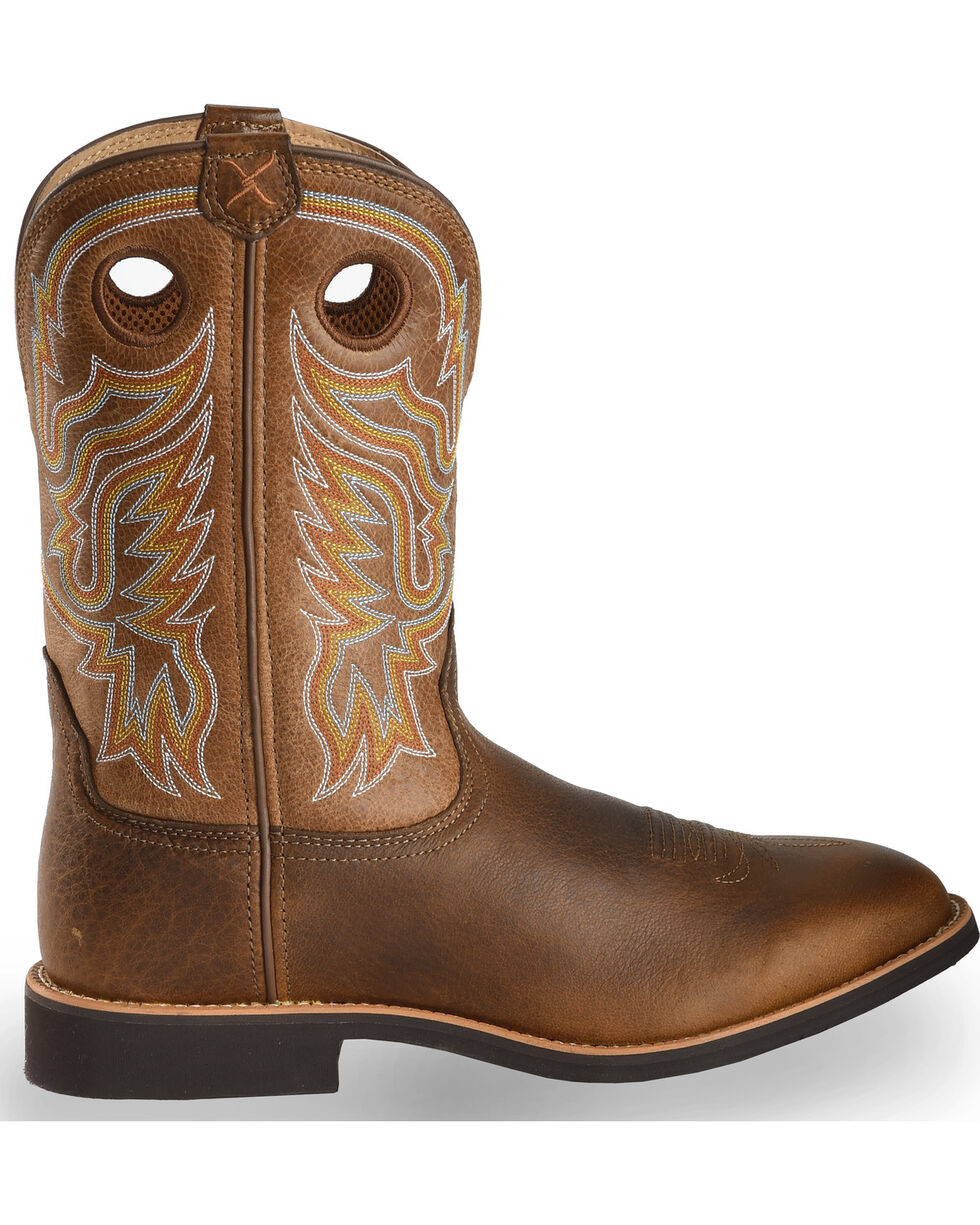 Twisted X Men's Joe Beaver Calf Roper Western Boots, , hi-res