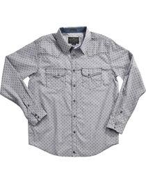 Cody James Men's Compass Printed Long Sleeve Shirt, , hi-res