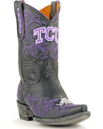 Gameday Texas Christian University Cowgirl Boots - Snip Toe, , hi-res