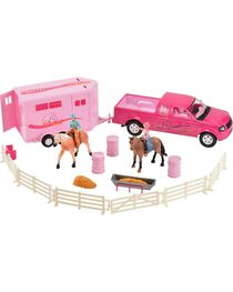 Bigtime Rodeo Cowgirl Truck, Trailer & Accessory Set, , hi-res
