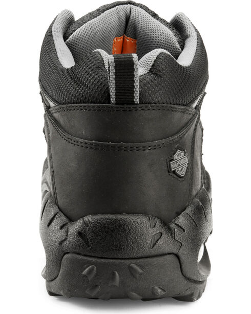 Harley-Davidson Men's Jett Tennis Shoes, Black, hi-res