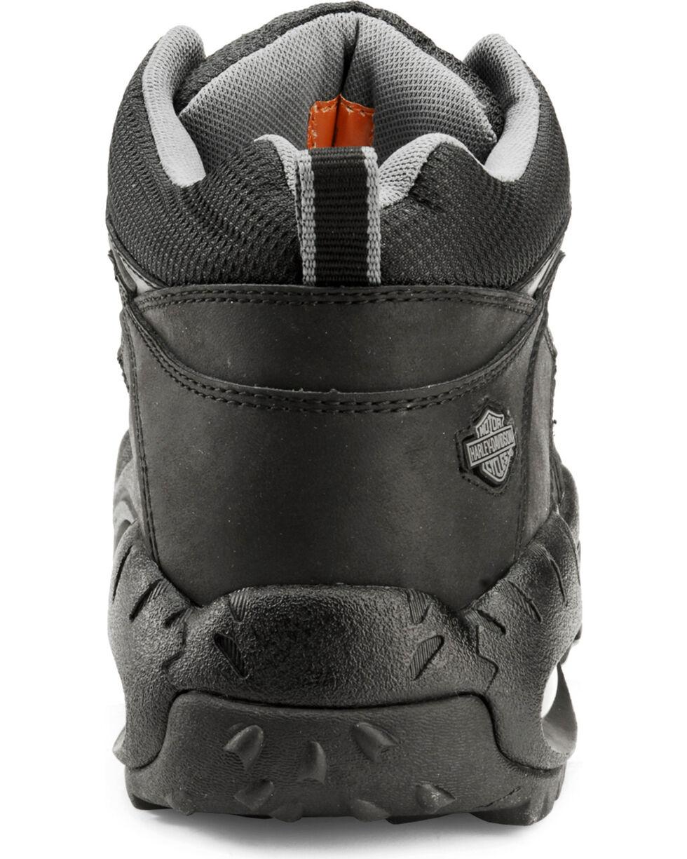 Harley-Davidson Men's Jett Tennis Shoes, Black, hi-res