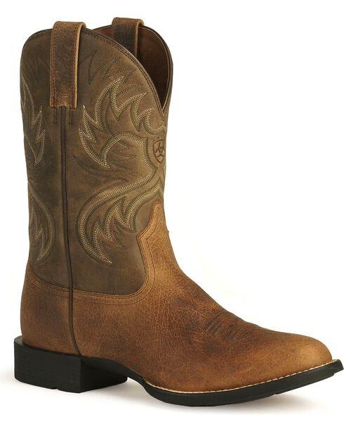 Ariat Men's Heritage Horseman Western Boots, Earth, hi-res