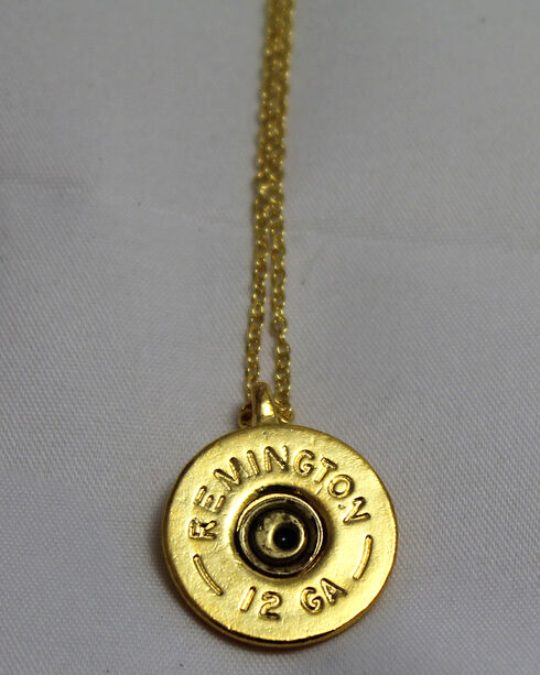 SouthLife Supply Oakley Shotshell Pendant in Traditional Gold, Gold, hi-res