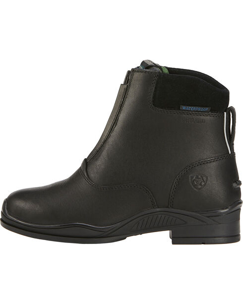 Ariat Youth Extreme Zip H20 Insulated Boots, Black, hi-res