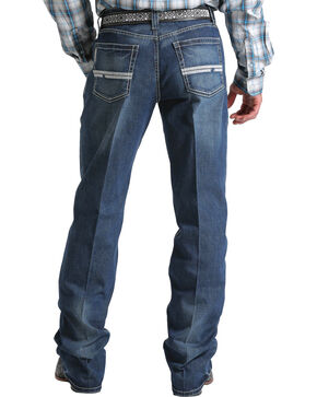 Cinch Men's Grant Boot Cut Jeans, Indigo, hi-res