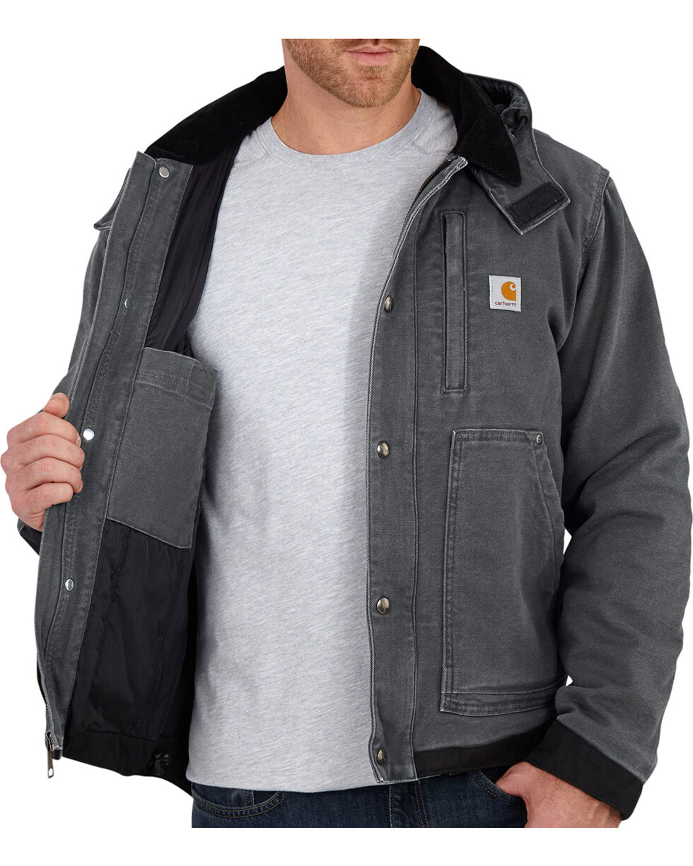 Carhartt Men's Full Swing Caldwell Jacket, Shadow Black, hi-res