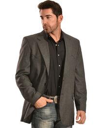 Circle S Men's Grey Odessa Sport Coat, Grey, hi-res