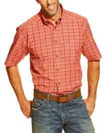 Ariat Men's Danville Short Sleeve Western Shirt, , hi-res