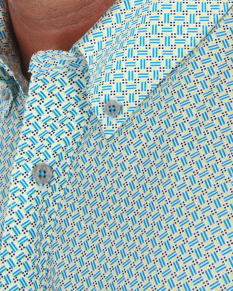Wrangler Men's Blue 20X Competition Advanced Comfort Shirt , Blue, hi-res