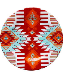 HiEnd Accent Multi Southwest Four-Piece Melamine Dinner Plate, , hi-res