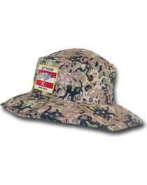 Hooey Men's Camo Ziggy Bucket Cap , , hi-res