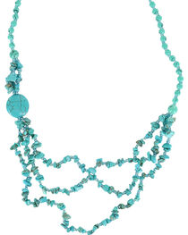 Shyanne® Women's Turquoise Beaded Necklace, , hi-res