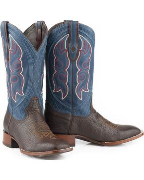 Stetson Men's Harve Exotic Boots, Brown, hi-res