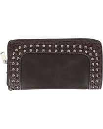 Savana Women's Studded Western Wallet, , hi-res