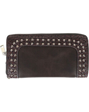 Savana Women's Studded Western Wallet, Multi, hi-res