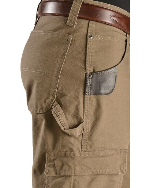 Wrangler Riggs Cordura Canvas Work Pants, Brown, hi-res