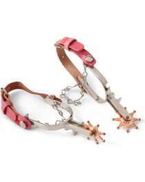 Little Outlaw Pink Toy Spurs, , hi-res