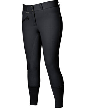 Dublin Women's Everyday Signature Full Seat Breeches, Black, hi-res