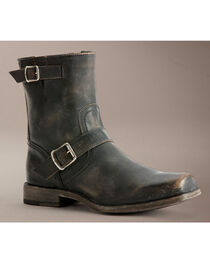 Frye Smith Engineer Stonewashed Boots, , hi-res