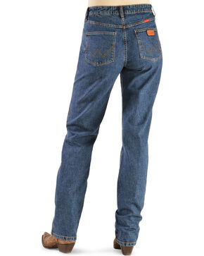 Wrangler Women's Cowboy Cut Natural Fit Jeans, Stonewash, hi-res