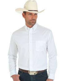 Wrangler 20X Advanced Comfort Men's White Button Shirt, , hi-res
