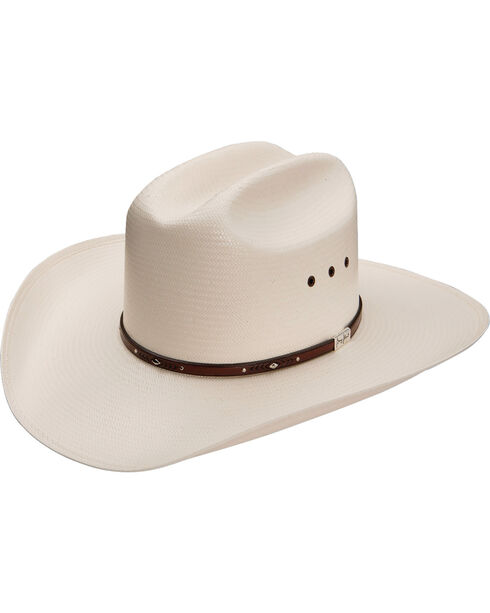 George Strait by Resistol Palo Duro T 8X Straw Cowboy Hat, Natural, hi-res