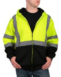 American Worker Men's High Visibility Safety Jacket, , hi-res