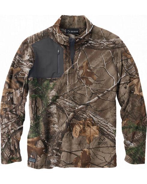 Dri Duck Men's Realtree AP Xtra Camo Fleece , Camouflage, hi-res